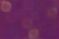 Close-up LEIDENE gloeilampendiode van de vertoningspaneel de LEIDENE van het HOOFDmonitorscherm van TV of Royalty-vrije Stock Foto