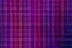 Close-up LEIDENE gloeilampendiode van het schermvertoning van de computermonitor Royalty-vrije Stock Afbeelding