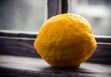 Close up of a lemon Stock Images