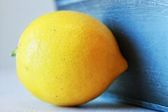 Close up of a lemon Royalty Free Stock Photos