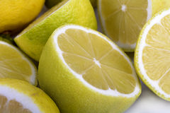 Close Up of Lemons Royalty Free Stock Photography