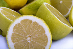 Close Up of Lemons Stock Photo