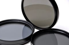 Close-up len filters Royalty Free Stock Image