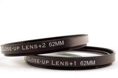 Close up lens Stock Image