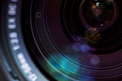 Close-up of lense Royalty Free Stock Photo