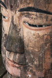 Close up of the Leshan Giant Buddha in Sichuan province China Stock Photography