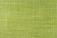 Close up of light Shiny green colored fine textured cotton Stock Photography