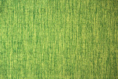 Close up line yellow green fabric texture Royalty Free Stock Image