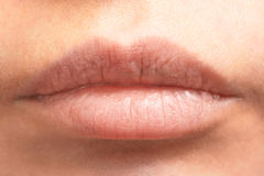 Close-up of lips Stock Photography