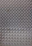 Close up listrado da placa de aço imagens de stock