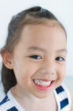 Asia girl smiling Royalty Free Stock Photography