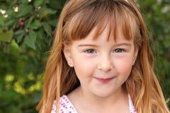 Close up of Little Girl Stock Photos