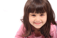 Close up of little girl Royalty Free Stock Images