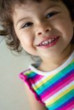 Close-up of little girl Stock Photography