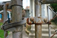 Close up on a lock Stock Photography