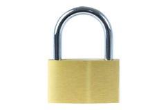 Close-up of a locked padlock Stock Image