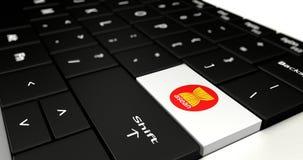 Close up of Logo Asean Economics Community button. Royalty Free Stock Photos