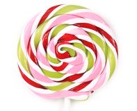 Close up of loli pop candy. Royalty Free Stock Image