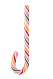 Close up of lollipop cane. Royalty Free Stock Photography