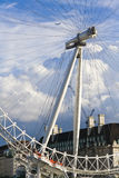 Close up on London Eye Stock Photography