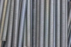 Close up of long screw thread 3 Stock Image