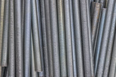 Close up of long screw thread 2 Stock Photos