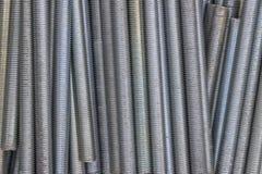 Close up of long screw thread 2 Stock Photos