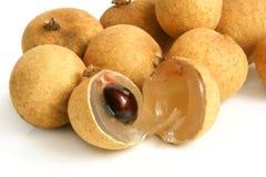 Close up of longan Royalty Free Stock Image