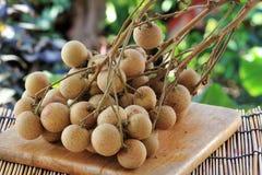 Close up Longan fruit Royalty Free Stock Photo
