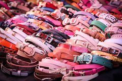 Close up a lot girl belt Royalty Free Stock Image