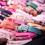 Close up a lot girl belt Stock Image
