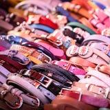 Close up a lot girl belt Stock Images