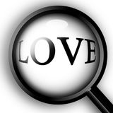 Close up on love Royalty Free Stock Photography