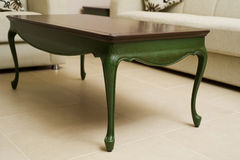 Close-up of a luxurious table corner Royalty Free Stock Photos