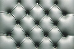 Close up  luxury buttoned leather. Royalty Free Stock Photos