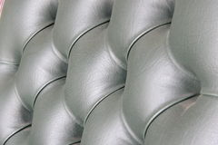 Close up  luxury buttoned leather. Royalty Free Stock Images