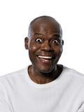 Close-up mężczyzna z oczami szeroko otwarty Fotografia Royalty Free