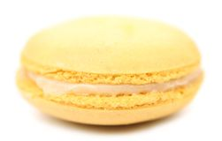 Close up of macaron cake. Royalty Free Stock Image