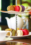 Close up macaroon Royalty Free Stock Photo