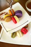 Close up macaroon Royalty Free Stock Image