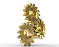Close-up of Machine Gears Stock Photos