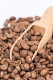 Close up macro coffee beans Royalty Free Stock Photography