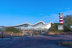Close up of Madurodam entrance royalty free stock photos
