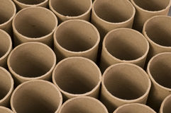 Close up of Mailing Tubes Royalty Free Stock Photo