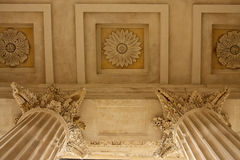 Close-up of the Maison Carrée Royalty Free Stock Photo