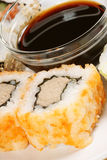 Close-up of Maki sushi rolls Stock Photo