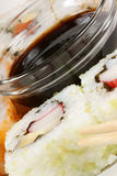 Close-up of Maki sushi rolls Royalty Free Stock Images