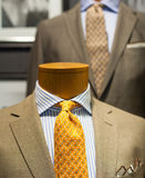 Close up of male suit. Close up of elegant male suit made in Italy Royalty Free Stock Images