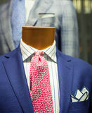 Close up of male suit. Close up of elegant male suit made in Italy Stock Images