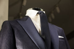 Close up of male suit. Close up of elegant male suit made in Italy Stock Photos